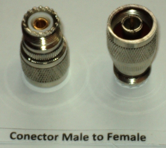 BNC Connector Male to Female