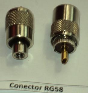 Connector RG58