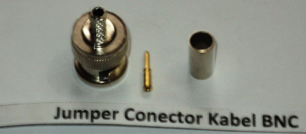 Jumper Connector Kabel BNC